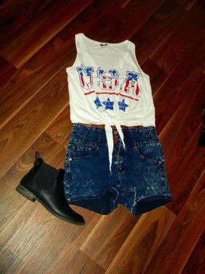 Shirt Usa XS Gina Tricot
