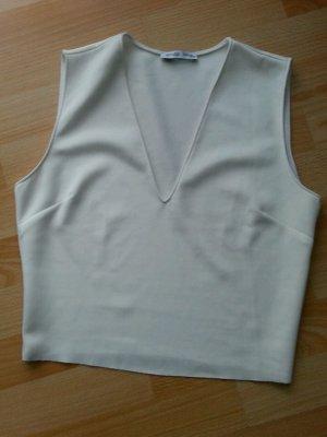 Shirt V-Ausschnitt Damenshirt Party Kurz Zara Gr.38