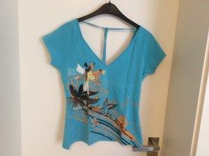 Shirt V-Ausschnitt von Mexx, türkis