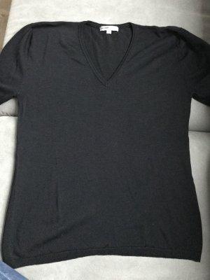 Sasch T-shirt col en V noir