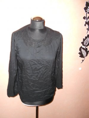 Shirt Vila S mit Bubikragen in Spitze