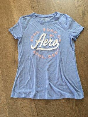 Aeropostale Camiseta azul celeste