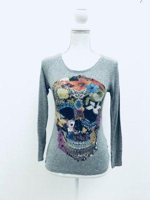 Shirt von Amor & Psyche, Gr. XS, grau