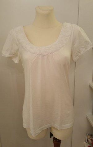 Ann Taylor T-Shirt white cotton