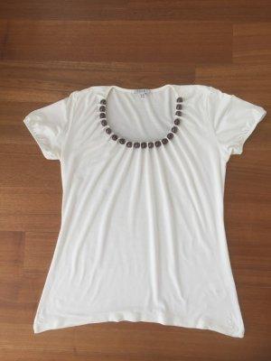 Shirt von Apart mit Perleneinsatz