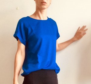 armedangels Oversized Shirt blue