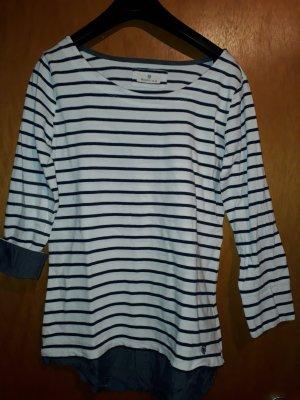 Basefield Stripe Shirt white-black