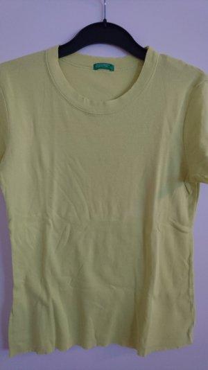 Shirt von Benetton in gelbgrün