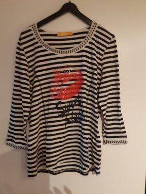 Biba T-Shirt white-black
