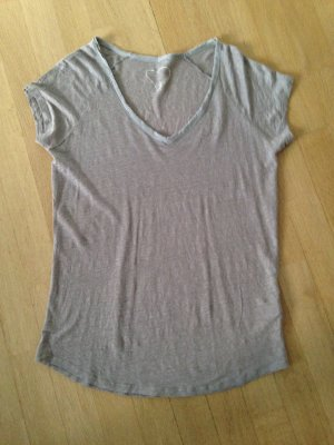Shirt von Bloom, Gr 38, oversize, Leinen
