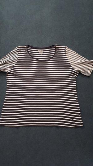 Bonita Stripe Shirt white-dark blue