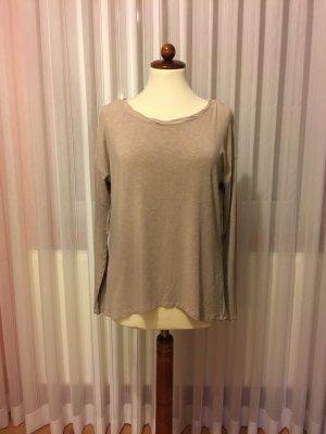 Shirt von Comma, Gr. 36, beige