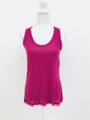 Shirt von Diane von Fürstenberg, pink / lila, Gr. S