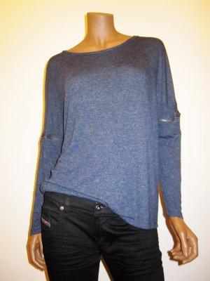 Shirt von Diesel, kurz und langarm, dunkelblau