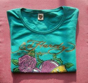 Shirt von EdHardy in türkis
