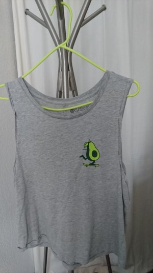 Element Camisa holgada gris claro