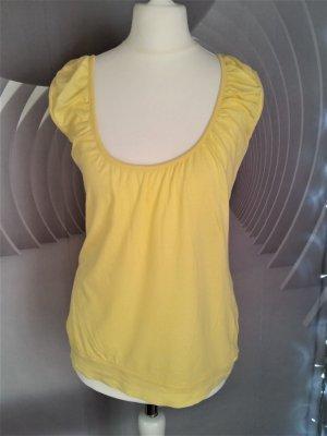 Fishbone Slip-over Blouse yellow