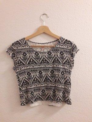 shirt von Fishbone Größe Xs Schwarz weiß