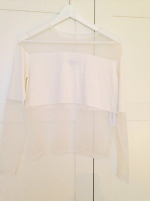 Shirt von French Connection Blogger Style Größe S Netz Seethrough Mesh