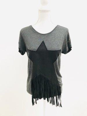 Frogbox Camisa tejida negro-gris