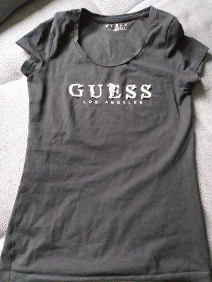 Guess Camiseta estampada negro