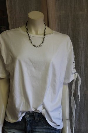 Guess Camisa holgada blanco