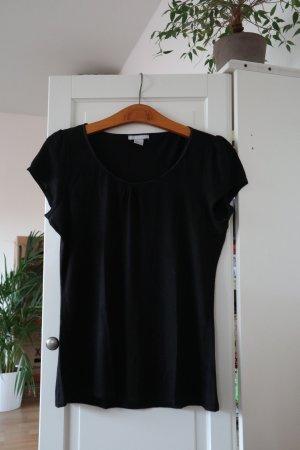 H&M T-shirt noir viscose