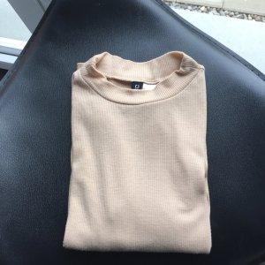 Shirt von H&M beige / nude Gr. XS