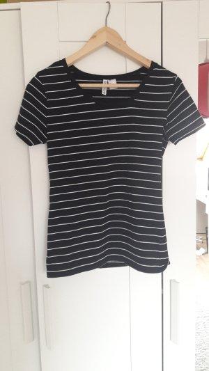 Shirt von H&M in Größe S schwarz weiß