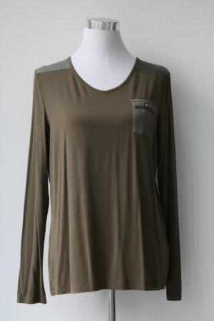 Shirt von Hauber in Khaki