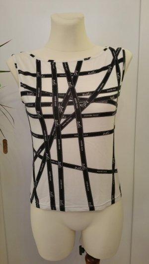 Shirt von Hermès in weiss und schwarz   BOLDUC Design