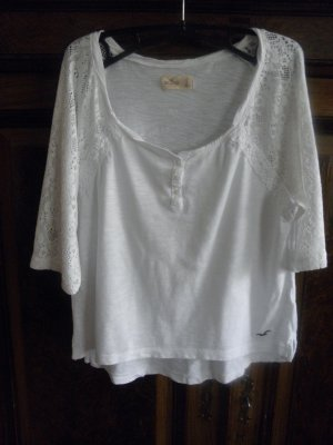 Shirt von Hollister mit Aufwendigen Details Gr. L, ca. Gr. 38-40