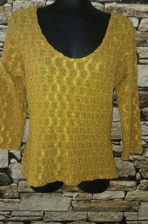 Joachim Bosse Shirt Tunic gold-colored-black