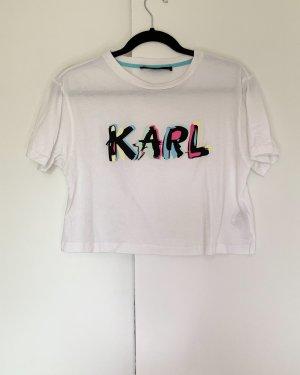 Shirt von Karl Lagerfeld Größe XS Weiß