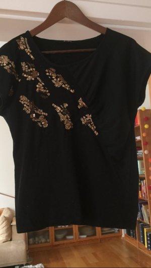 Shirt von kookai mit Perlen als Verzierung