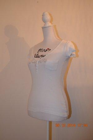 Shirt von Madonna weiß