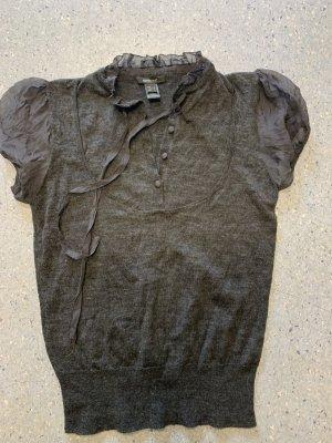Mango Knitted Jumper black-anthracite