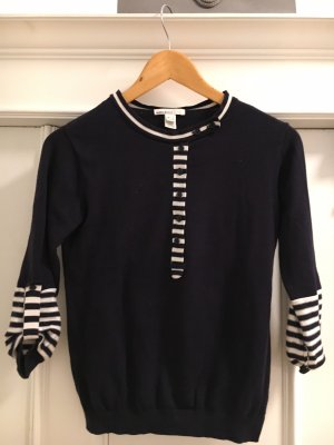 Shirt von Mango mit Knopfreihe und Ärmelraffung