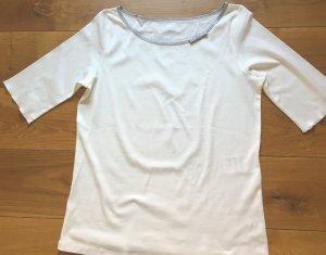 Shirt von Marc Cain Gr.40 beige/silber neu