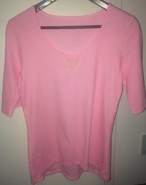 Shirt von Marc Cain. Größe N5(42) rosa. Neuwertiger Zustand