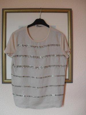 Shirt von Max Mara mit Pailletten - NEU