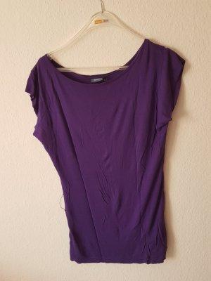 Mexx Camisa con cuello caído lila Viscosa