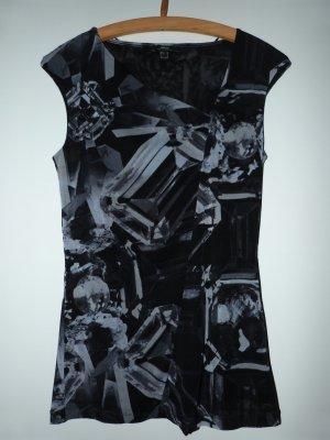 Shirt von Mexx mit Kristallprint