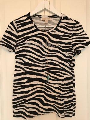 Michael Kors Shirt met print zwart-wit