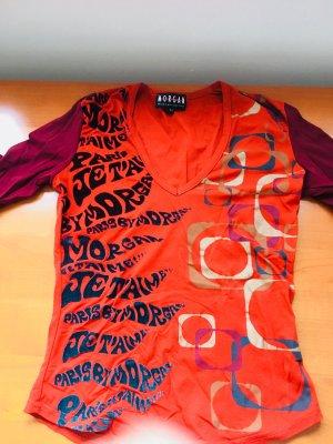 Shirt von Morgan De Toi Gr. T1 Gr. 34/XS Orange Gold