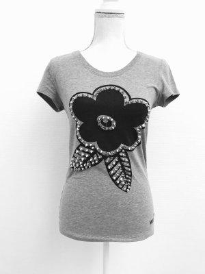 Shirt von Moschino in Grau und Schwarz Gr. S