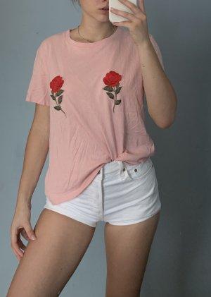 Shirt von Na-kd mit Rosen