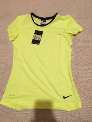 Nike T-shirt noir-jaune
