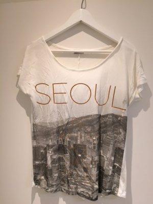 Shirt von Noisy May mit Print und SEOUL-Schriftzug