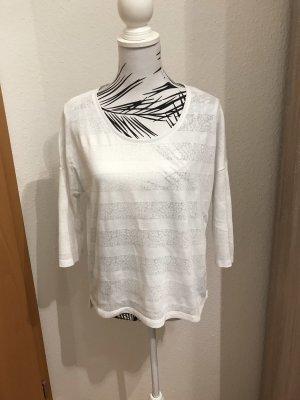 Opus Gebreid shirt wit